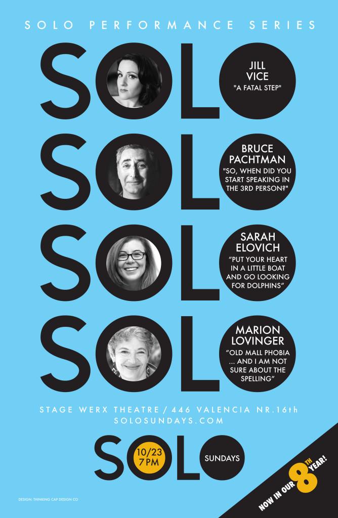 Oct 23, 2016  Solo Sundays poster